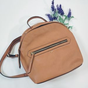 Kate Landry Camel Convertible Backpack Crossbody